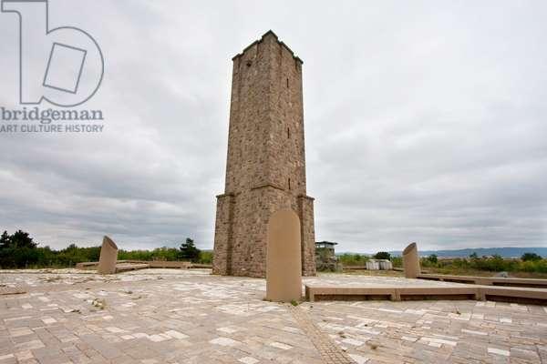 Gazimestan Monument to the Battle of Kosovo, Kosovo (photo)