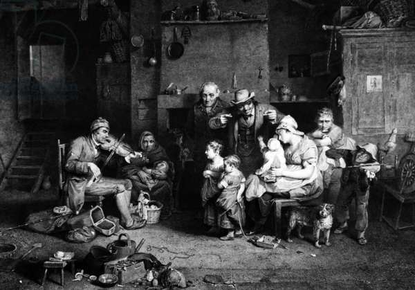 The Blind Fiddler, 1840