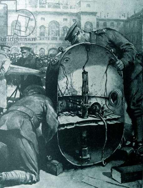 German sea mine, 1917