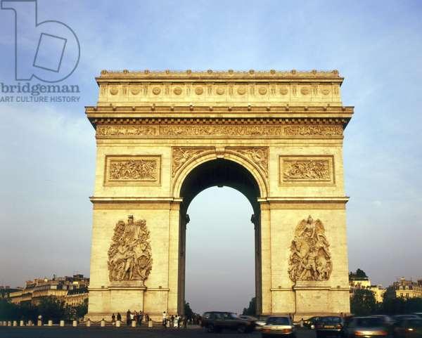France,  Paris.  Arc De Triomphe, Day