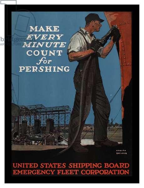 Patriotic American Poster
