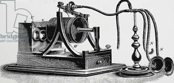 New motorised, Edison Phonograph, 1898