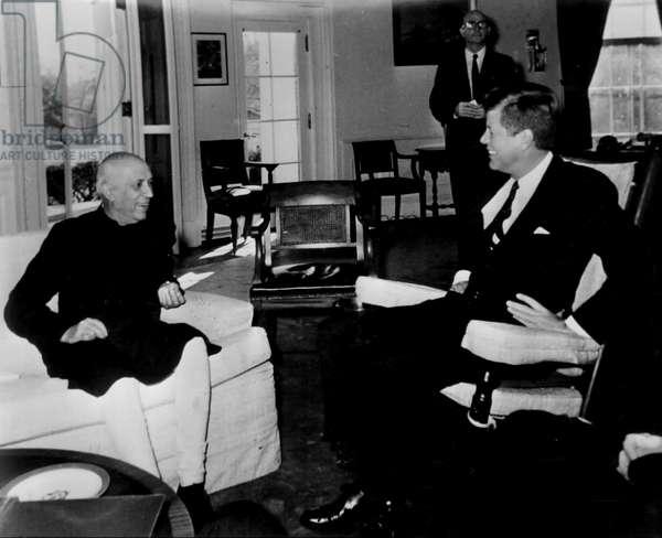 India's Prime Minister Nehru, 1961