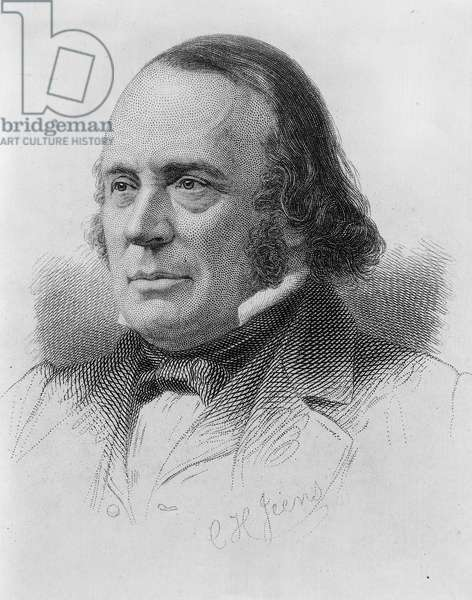 Louis Agassiz : Louis Agassiz, Swiss-born U.S. naturalist, geologist, and teacher, in an engraving by C. H. Jeans. Agassiz made revolutionary contributions to the study of natural science with landmark work on glacier activity and extinct fishes.  ©Encyclopaedia Britannica/UIG/Leemage