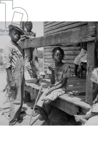 Mississippi Delta Negro children 1936 (photo)