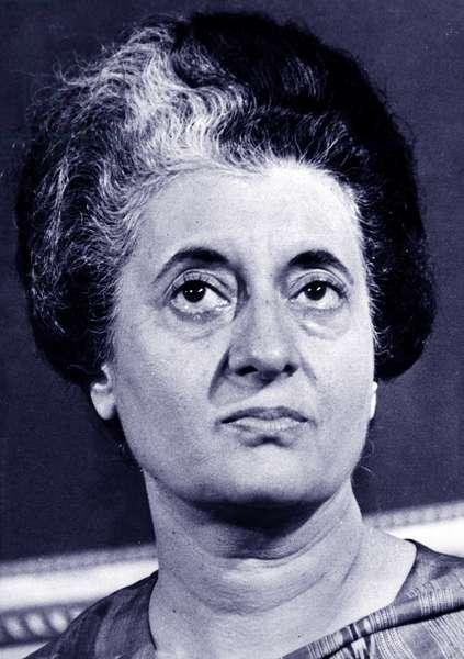 Indira Gandhi, 1950