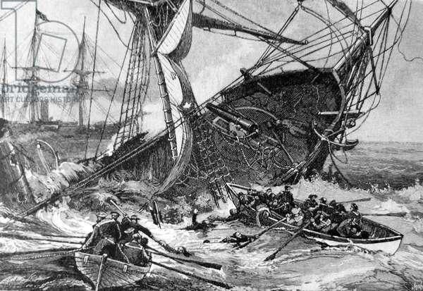 American Civil War, 1864 sinking of the CSS Alabama