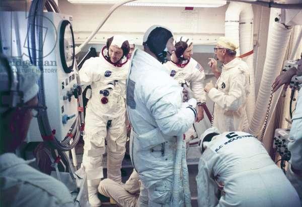 Manned Space Flight, USA, Apollo 11 Apollo 11 astronaut Michael Collins, 1969