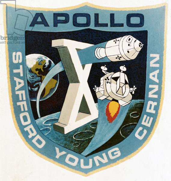 Manned Space Flight, USA, Apollo 10 The official Apollo 10 emblem, 1969