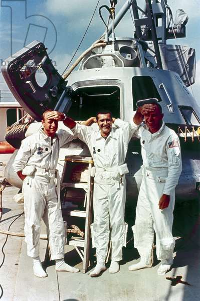 Manned Space Flight, USA, Apollo 12 Apollo 12 astronauts, 1969
