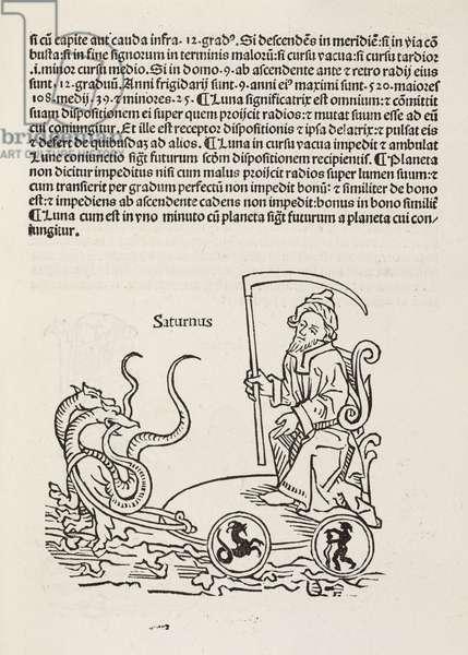 Saturn symbolised, 1489