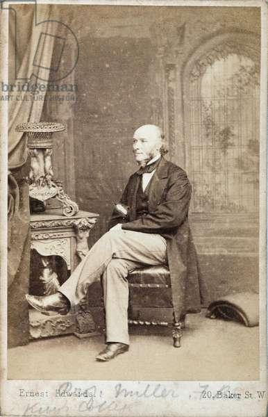 William Allen Miller, British chemist, c 1860s
