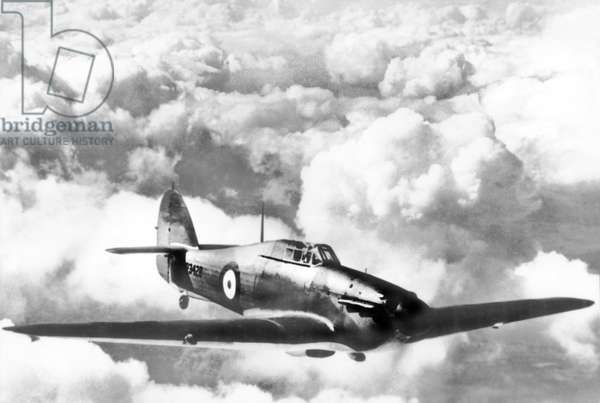 United Kingdom : A Hawker Hurricane Fighter. c1940