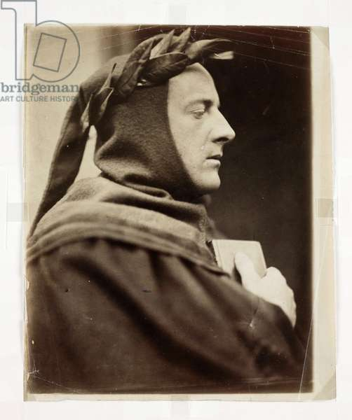 John Everett Millais as Dante', 1862