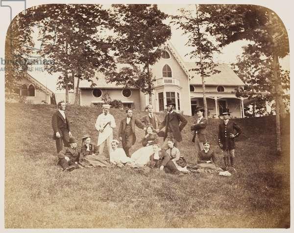 Servants group', 1860