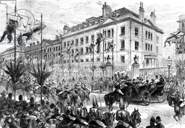 Hospitals Royal visit to the London Hospital, 1876