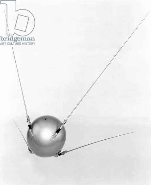 Satellites, Scientific, International Sputnik I satellite