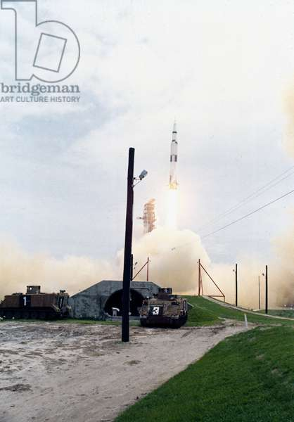Manned Space Flight, USA, Apollo 10 Launch of the Apollo 10 mission, 18th May 1969