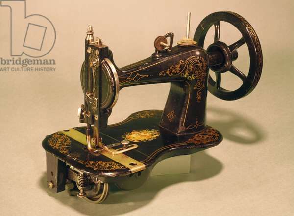 Sewing Machines Remington Arms lock-stitch sewing machine, 'Empire' model, 1870