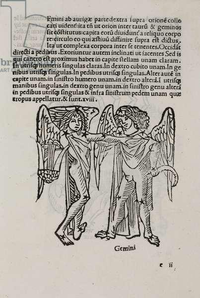 The constellation of Gemini, 1488