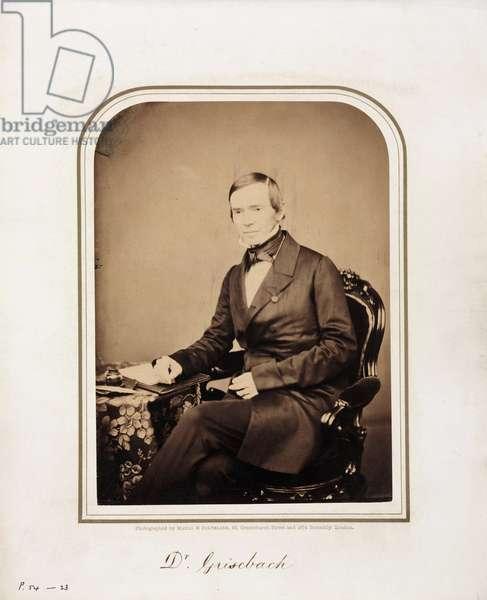 Rudolph Grisebach, German plant taxonomist, 1854-1866
