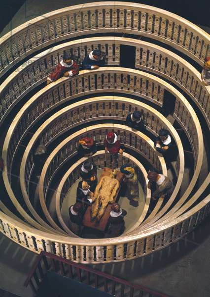 Pathology, Dissections The anatomical theatre of Fabricius in Padua, Italy, 1594