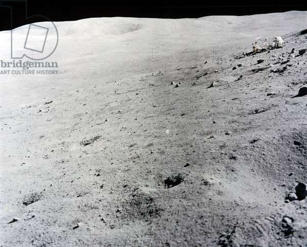 Manned Space Flight, USA, Apollo, General Lunar landscape, 1971-1972