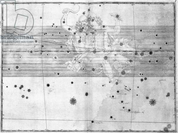 The constellation Gemini, 1603