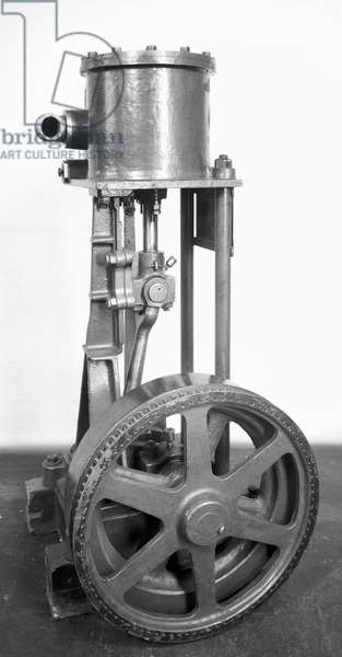 Booth's 'Puffing Billy' vacuum cleaner, 1901