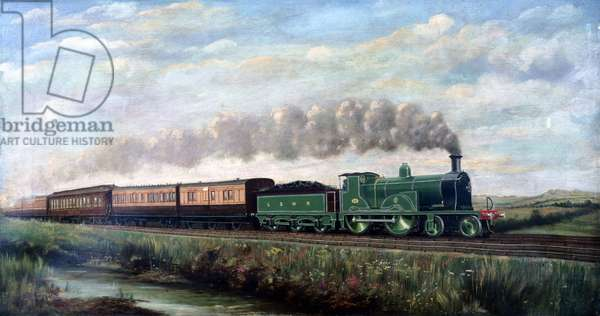 London & South Western Railway 4-4-0 locomotive no 294, c 1899