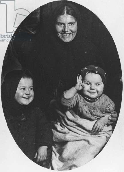 Faces of the Hopeful', Ellis Island, 1910