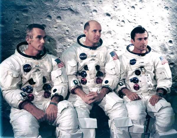 Manned Space Flight, USA, Apollo 10 Apollo 10 astronauts, 1969