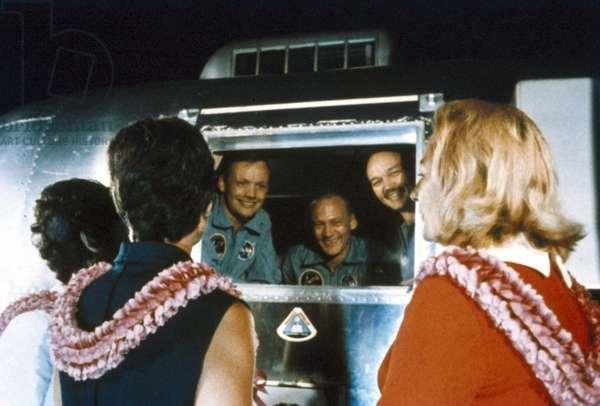 Manned Space Flight, USA, Apollo 11 Apollo 11 astronauts return home, 1969