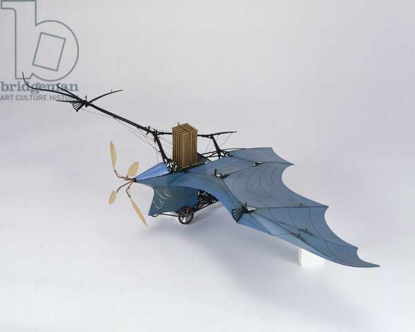 Ader's 'Eole' flying machine, 1890