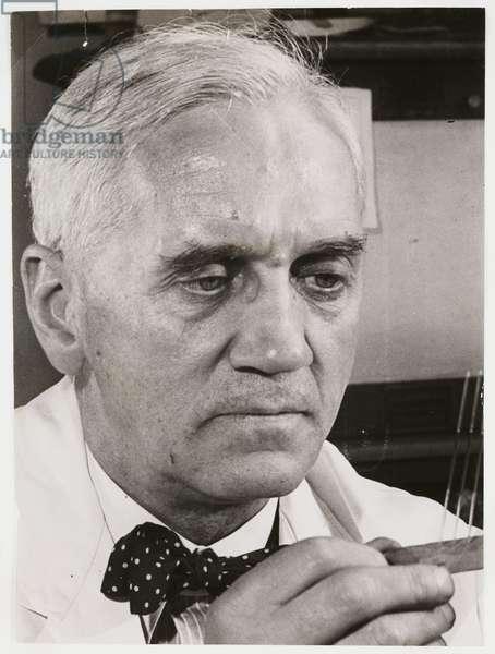 'Sir Alexander Fleming', 1945