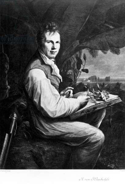Alexander von Humboldt, German naturalist and explorer, c 1806