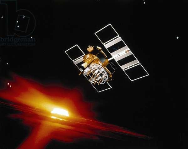 Satellites, Military, USA NAVSTAR satellite, 1986