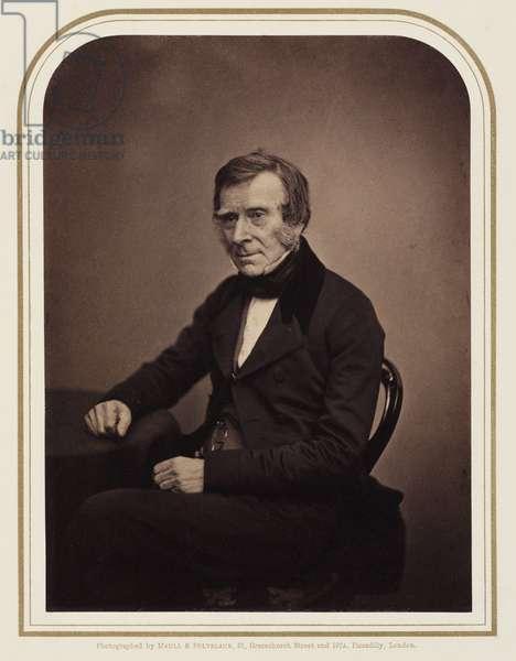 Sir Benjamin Collins Brodie, surgeon, 1854-1866