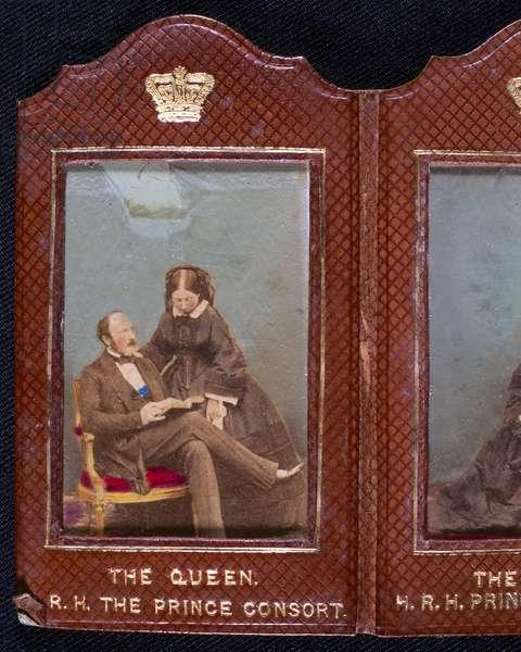 Queen Victoria and Prince Albert, c 1850s