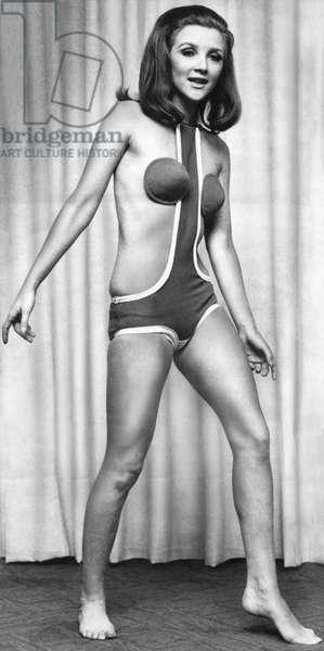 Model wearing Concord bikini, 30 January 1967