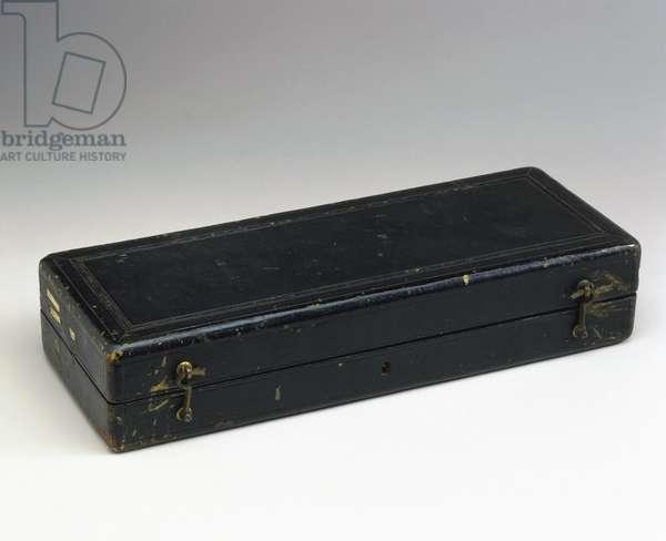 Equipment, General, Modern Box of amputation instruments, German, 1831-1870