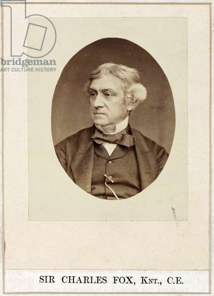 Charles Fox, engineer, c 1860s
