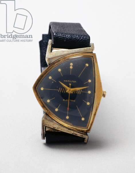 Watches, Wrist, Analogue Hamilton electric wristwatch, 1957