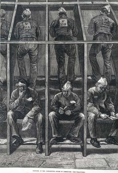Prison treadwheel, 1874