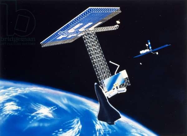 Future Concepts Design for future space centre, 1984