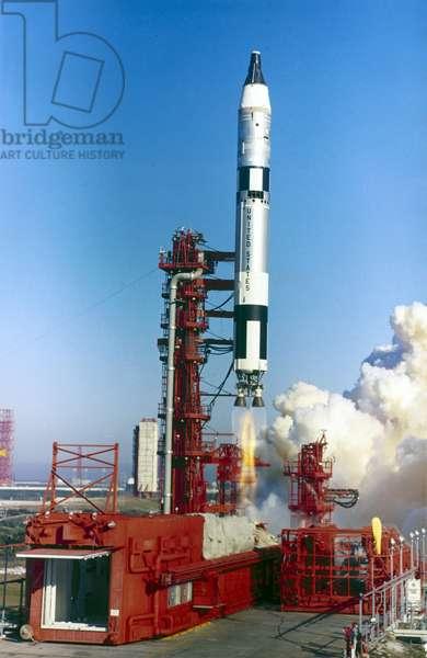 Launch Vehicles, USA Launch of a Titan II rocket, January 1965