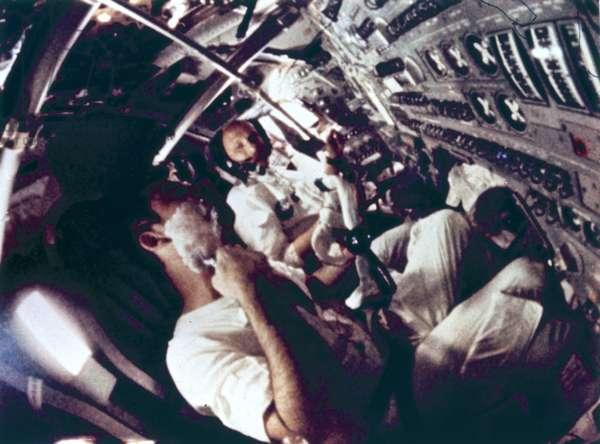 Manned Space Flight, USA, Apollo 10 On board Apollo 10, 1969