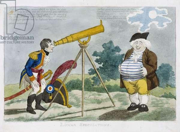 Lunar Speculations', 1803