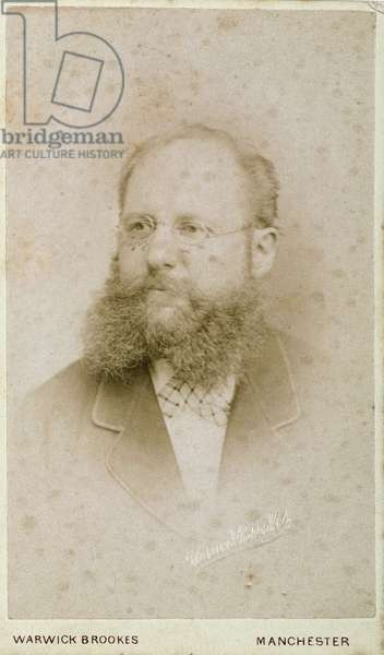 Portrait of an unknown man, 19th century
