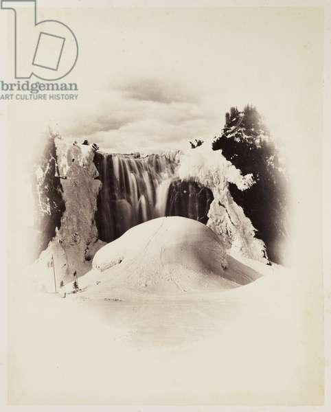 Montmorency Falls Winter', 1860